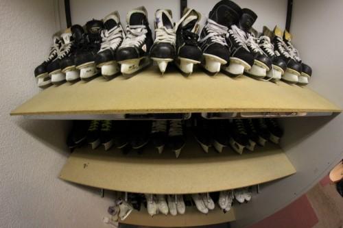 Le temps des patins à glace