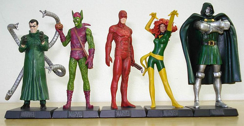 Figurines  Marvel/Dc