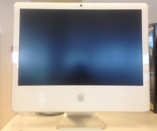 Apple iMac 6.1 Core 2 Duo blanc
