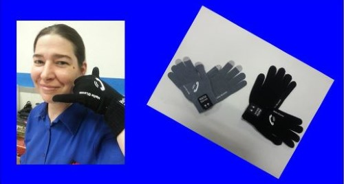 Gants tactiles Bluetooth