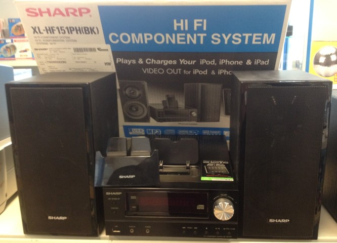 Sharp XL-HF151PHBK