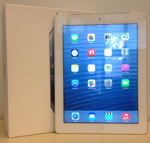 Apple iPad 4 16 Go WiFi + 4G blanc